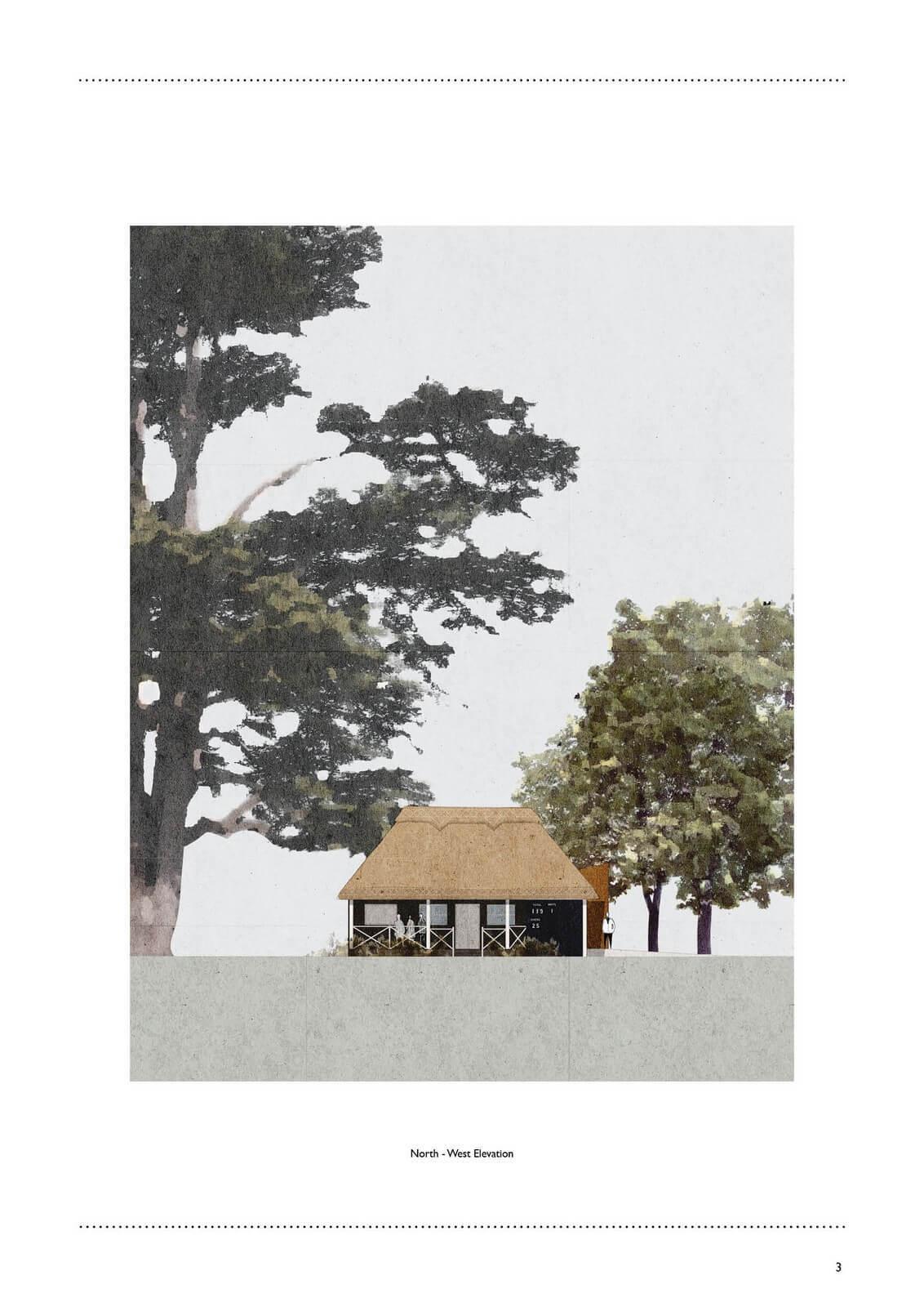 Goodwood Cricket Pavilion Proposed Rev B3