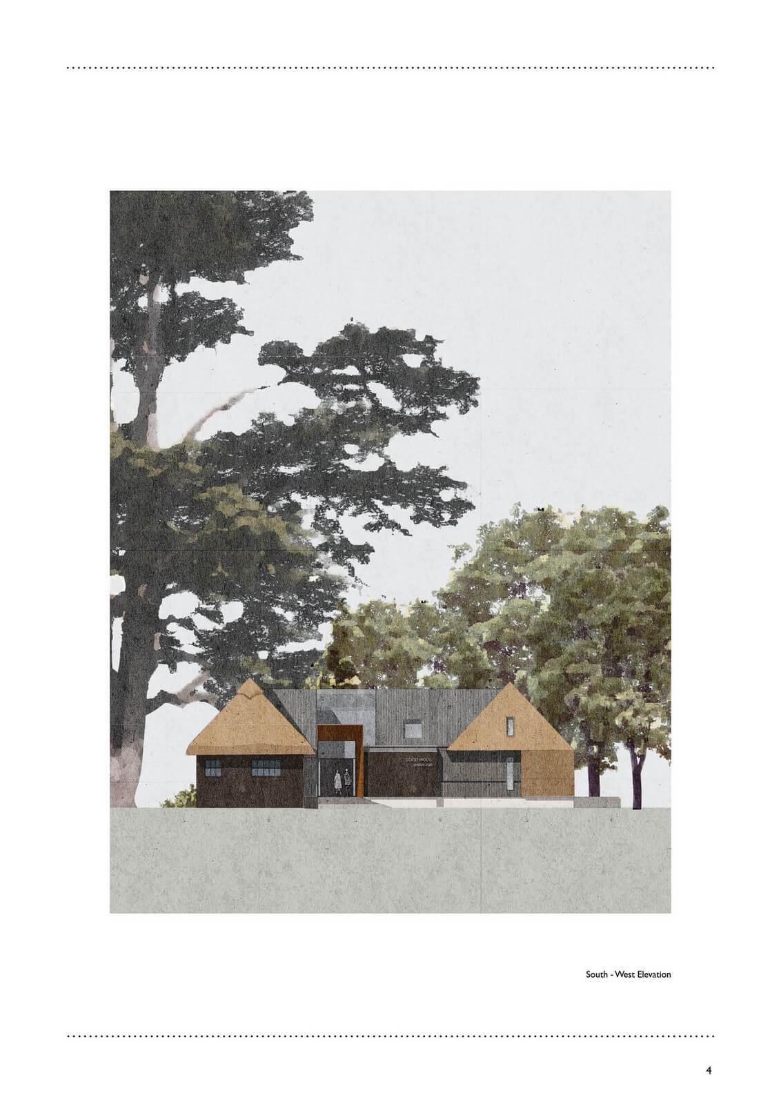 Goodwood Cricket Pavilion Proposed Rev B4